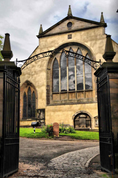 Greyfriars, Victorian and Old Edinburgh tour meeting place