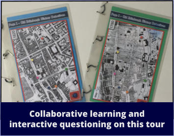 Collaborative learning and  interactive questioning on this tour